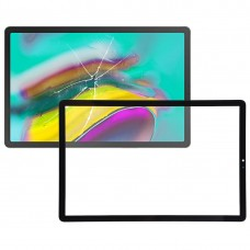 Front Screen Outer Glass Lens for Galaxy Tab S5e SM-T720 / SM-T725 (Black)