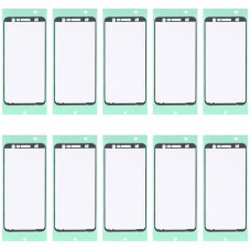 10 PCS Front Housing Adhesive for Samsung Galaxy J6+ / SM-J610