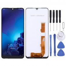 LCD Screen and Digitizer Full Assembly for Alcatel 3 2019 / 5053 (Black)