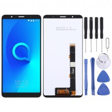 LCD Screen and Digitizer Full Assembly for Alcatel 3C 2019 / OT5006(Black)