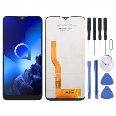 LCD Screen and Digitizer Full Assembly for Alcatel 1SE 2020 / 5030 (Black)