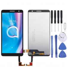 LCD Screen and Digitizer Full Assembly for Alcatel 1B 2020 5002 5002D 5002X 5002H (Black)