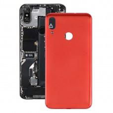 Battery Back Cover for Motorola Moto E6 Plus (Red)