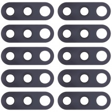 10 PCS Back Camera Lens for Nokia 4.2 / TA-1184 / TA-1133 / TA-1149 / TA-1150 / TA-1157(Black)