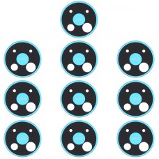 10 PCS Camera Lens Cover for Nokia C5 Endi (Blue)