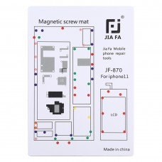 JIAFA JF-870 Magnetic Pad Screw Board for iPhone 11