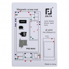 JIAFA JF-870 Magnetic Pad Screw Board for iPhone 11 Pro Max