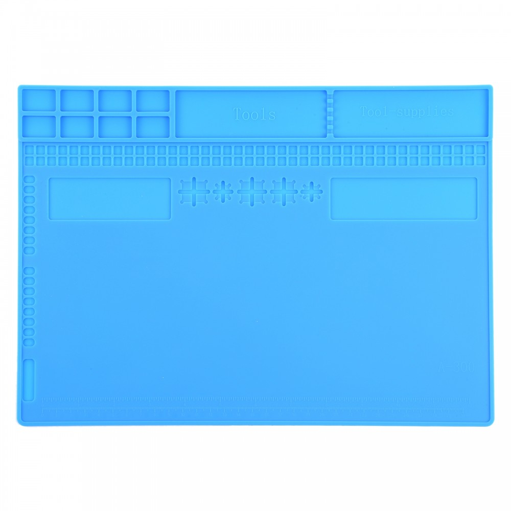 A-300 Insulation Heat-Resistant Repair Pad ESD Mat, Size: 34 x 24cm