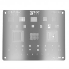 BEST iPH-12-1 CPU Reballing Stencils Template For iPhone
